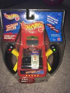 RARE! Hot Wheels Thunder Roller Electronic Handheld Game For Cars Mattel NIB