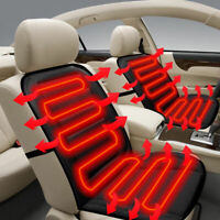 ADJUSTABLE TEMPERATURE CAR SEAT HEATED CUSHION COVER MAT AUTO HEATER WARMER 12V