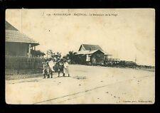 South Africa France Madagascar MAJUNGA Restaurant de la Plage c1920s? PPC