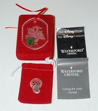 WATERFORD CRYSTAL 1996 DISNEY MICKEY MOUSE ORNAMENT MIB MICKEY'S WONDERLAND