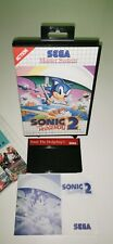 SEGA Master System Spiel SONIC THE HEDGEHOG 2 RetroGame CIB