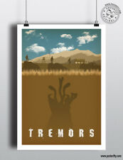 TREMORS - Minimal Movie Poster Posteritty Minimal Print Graboid Bacon Perfection