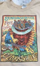 SUNFLOWER RIVER BLUES & GOSPEL FESTIVAL Clarksdale, MS 2X 25th Anniversary 2012