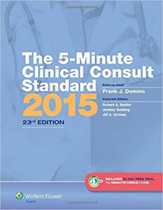The 5-Minute Clinical Consult Standard 2015 (The 5-Minute Consult Series), Very