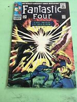 Fantastic Four 53 VG 2nd Black Panther 1st Klaw Origin of Both! Marvel C31