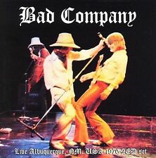 BAD COMPANY LIVE ALBUQUERQUE 1976 2 CD SET IMPORT OUT OF PRINT NEW SEALED