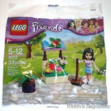 Lego Friends Polybag EMMA'S FLOWER STAND, Set # 30112 Sealed bag