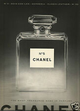 50's Chanel No 5 -Bois des Iles-Gardenia-Russia Leather Perfume Ad