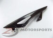 2007-2016 Kawasaki Z1000 Rear Chain Guard Mud Cover Panel Cowl 100% Carbon Fiber