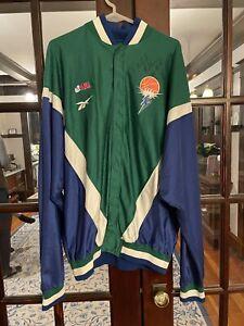 Portland Power Basketball ABL 1997 1998 1999 Reebok Jacket Delisha Milton Jones