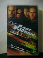FAST AND FURIOUS [vhs, Universal, 2001, 102']