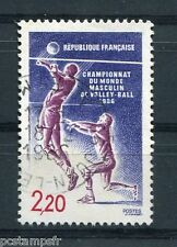 FRANCE - 1986, timbre 2420, SPORT, VOLLEY-BALL, oblitéré
