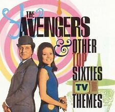 1960S: AVENGERS AND OTHER 60S - V/A - 2 CD - COMPILATION SOUNDTRACK - RARE