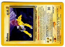 POKEMON NEO REVELATION ( In ENGLISH ) ENGLISH RARE N° 22/64 RAIKOU ...