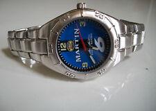 NASCAR  MARTIN Silver Finish Collection Fashion Men's  Watch