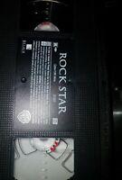 Rock Star (VHS, 2001) Mark Wahlberg, Jennifer Aniston