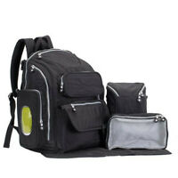 Luxury Multifunctional Baby Diaper Backpack Nappy Bag Changing Mummy