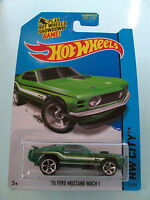 Hot Wheels 2014 HW City - '70 FORD MUSTANG MACH 1 #97/250 - New In Packet