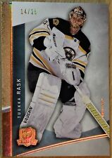 "2012-13 UPPER DECK ""THE CUP""  -  TUUKKA RASK GOLD BASE CARD    #14/25"