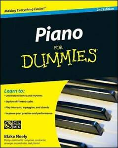 Piano For Dummies - Paperback By Neely, Blake - GOOD