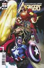 AVENGERS 1 VOL 7 2nd PRINT VARIANT NM IRON MAN THOR CAPTAIN AMERICA NM