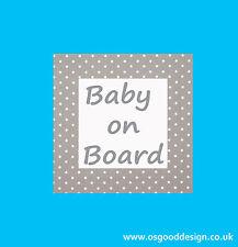 Keep Calm Bump on Board Baby Pregnant Driver Boy Girl Car Bumper Sticker C090