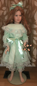 Donna Rubert June Jointed Porcelain Doll Large