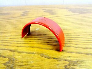 Vintage 1960's BUDDY L Texaco Fire Chief Truck FRONT FENDER Pressed Steel PART