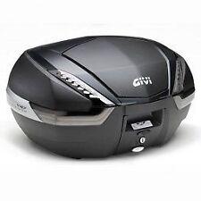 GIVI V47NNT Monokey Top case - Tech Flat Black with carbon pattern finishing