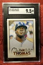 2018 Topps Gallery #112 Frank Thomas White Sox SGC-9.5, Combined Shipping