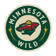 Hockey NHL Full Color CAD Cut Car Vinyl Sticker Decal Minnesota Wild