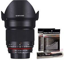 Samyang 16mm F2.0 UMC f/2 Ultra Wide Angle Lens for Micro Four Thirds M4/3 MFT