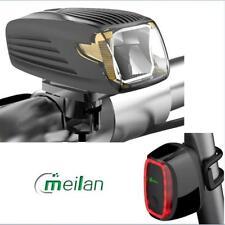 Meilan X1 LED Fahrradbeleuchtung X6 Fahrrad Rücklicht intelligent Lampe Set