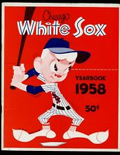 1958 MLB Baseball Chicago White Sox Yearbook EXMT