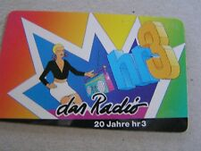 Germany  used chip card   The Radio HR3 20 years