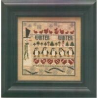 Winter Line Up Cross Stitch Chart By The Trilogy **FREE P&P**