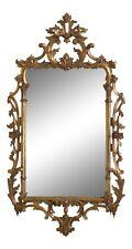 31403Ec: Milch & Son Vintage Georgian Carved Gold Gilt Mirror