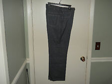 Huband Fit Forever Men's Pants Size 34 X 30 Blue Heather Expandable Waist New