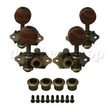 4piece 2L2R Open-gear Acoustic Guitar Tuners Machine Heads for Ukulele