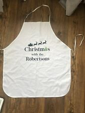 Christmas Themed Cooking Kitchen Apron - Christmas With The Robertson's New