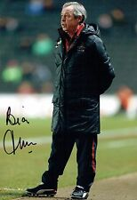 Brian FLYNN Signed Autograph 12x8 Photo 2 AFTAL COA Football Manager Player