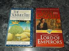 Guy Gavriel Kay lot of 2 fantasy paperbacks