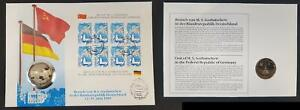 Numismatic 1989 Germany/Soviet Union Besuch From WITH S.S.Gorbatschew 47837