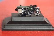 Moto post office telephones BSA motocycle side car oxford 1/76  .