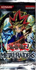 Metal Raiders New 1 Guaranteed Unsearched Sealed Booster Pack YU-GI-H!