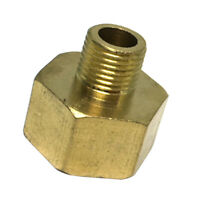 """1/8"""" Male x 3/8"""" Female Thicken Brass Thread Adapter Connector Pipe Fitting"""