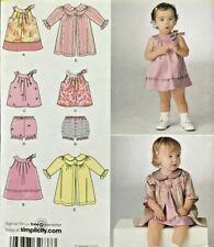 UC Simplicity 2668 Pattern Toddler Girls Sun Dress Coat Summer Top Panty Bloomer