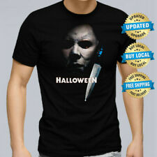 Halloween Men T-Shirt Michael Myers Retro Horror Movie Tee Size XS- 5XL Mike