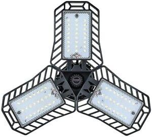 NATHOME led Garage Light bulb,60w Equivalent 72 LEDs,5000K Daylight