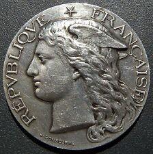 Médaille Argent silver NIORT 1891 Ministère de l'Agriculture Ponscarme 38 Gr